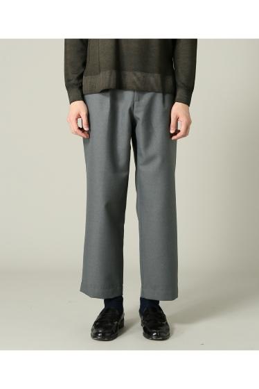 ���㡼�ʥ륹��������� RICCARDO METHA / �ꥫ��ɥ�å�:mens 1tuck wide trouser wool �ܺٲ���4
