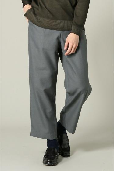 ���㡼�ʥ륹��������� RICCARDO METHA / �ꥫ��ɥ�å�:mens 1tuck wide trouser wool ���졼A