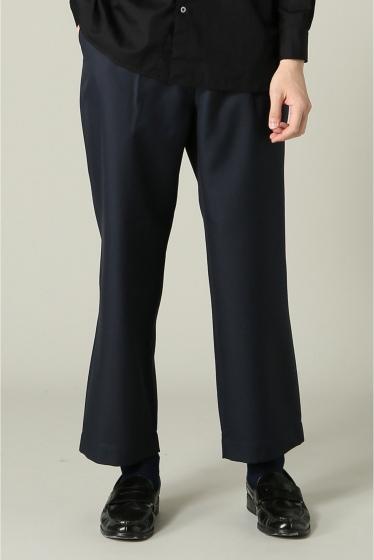 ���㡼�ʥ륹��������� RICCARDO METHA / �ꥫ��ɥ�å�:mens 1tuck wide trouser wool �ͥ��ӡ�