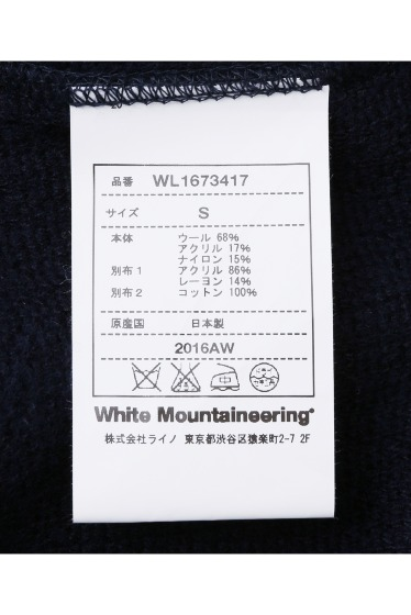 ������ White Mountaineering �˥åȥѥ�� �ܺٲ���13