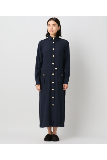 ���㡼�ʥ륹��������� �쥵������ ��HARVEY FAIRCLOTH /�ϡ����������ե������?�� GOLD BUTTON DRESS:���ԡ����� �ܺٲ���3
