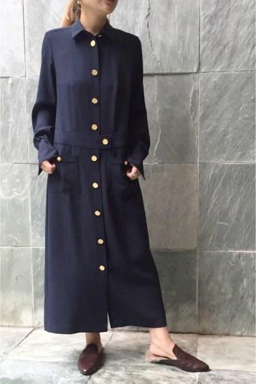 ���㡼�ʥ륹��������� �쥵������ ��HARVEY FAIRCLOTH /�ϡ����������ե������?�� GOLD BUTTON DRESS:���ԡ����� �ͥ��ӡ�