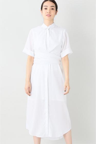 ���㡼�ʥ륹��������� ��OSKAR/���������� Rosy Outlook Shirt Dress:����ĥ��ԡ��� �ۥ磻��