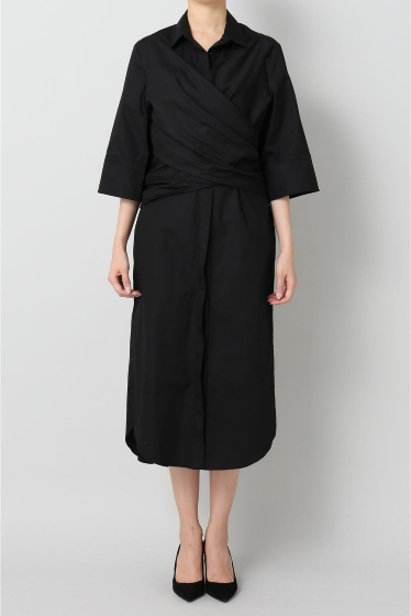 �����ԡ����ȥ��ǥ��� ��CAMEO COLLECTIVE DESIGN SHIRT DRESS �֥�å�