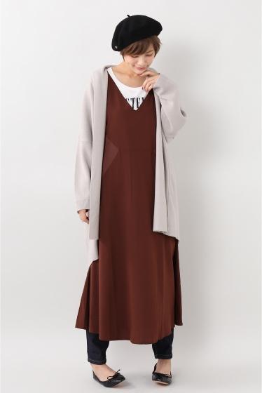 ���?�� ������ BONSUI SATIN SLEEVELESS DRESS �ܺٲ���3