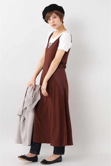 ���?�� ������ BONSUI SATIN SLEEVELESS DRESS �ܺٲ���4