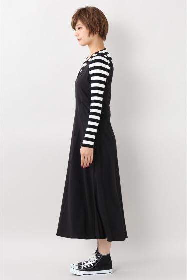���?�� ������ BONSUI SATIN SLEEVELESS DRESS �ܺٲ���6