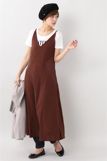 ���?�� ������ BONSUI SATIN SLEEVELESS DRESS �ܥ�ɡ�