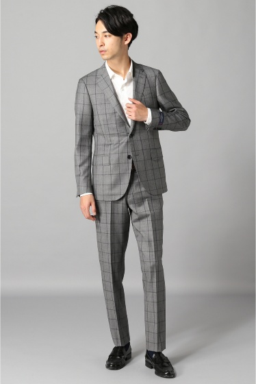 �١��������ȥå� E.ZEGNA Window Pane ���졼