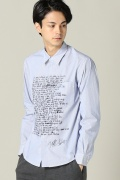 ���ƥ�����å� RESERVED NOTE Lyrics shirt