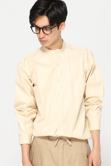 ���ǥ��ե��� ��LECHOPPE��RE-PURPOSE BAND COLLAR SHIRT A �ʥ�����