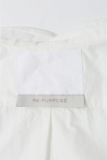 ���ǥ��ե��� ��LECHOPPE��RE-PURPOSE/BAND COLLAR SHIRT B �ܺٲ���11