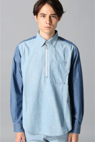 �����ܥ ������ ��WHEIR Bobson��mens zip shirts �ܺٲ���1