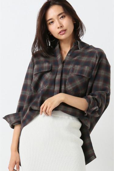 ���ԥå������ѥ� ��PHARAOH�� Plaid Shirts Jacket ��å�