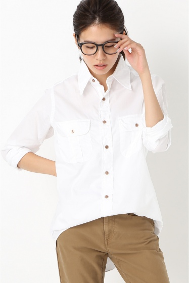 �ե졼���� INDIVIDUALIZED SHIRTS ��ǥ������쥮��顼����� �ۥ磻��