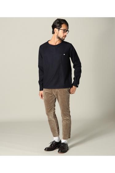 ���㡼�ʥ륹��������� ���塼�� TODD SNYDER / �ȥåɥ��ʥ�����: Twill Flannel T-Shirts / ����� �ܺٲ���1