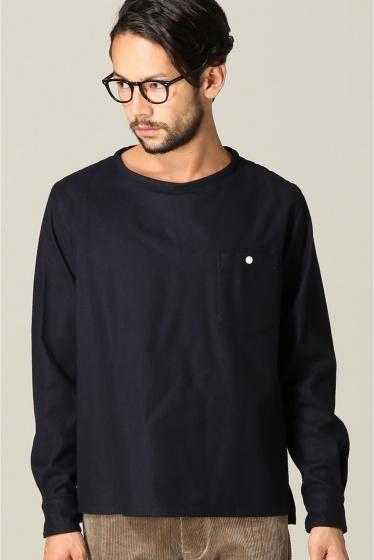 ���㡼�ʥ륹��������� ���塼�� TODD SNYDER / �ȥåɥ��ʥ�����: Twill Flannel T-Shirts / ����� �ͥ��ӡ�