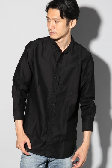 ���㡼�ʥ륹��������� SHAWL COLLAR SHIRT �֥�å�
