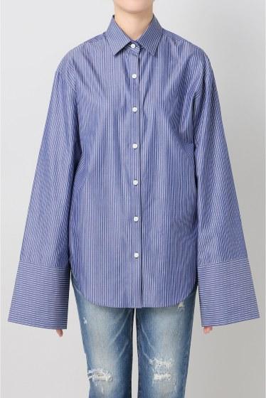 ���ѥ�ȥ�� �ɥ����������� ���饹 Stripe Wide Sleeve Shirt�� �ܺٲ���1