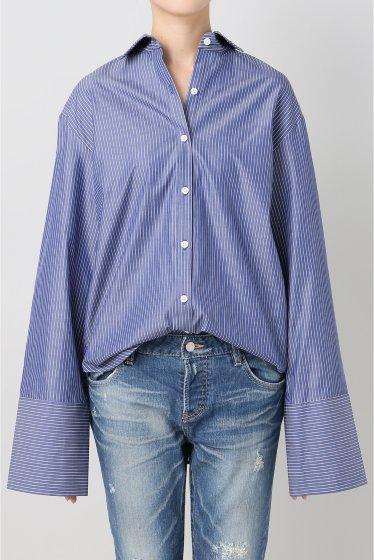 ���ѥ�ȥ�� �ɥ����������� ���饹 Stripe Wide Sleeve Shirt�� �ܺٲ���12