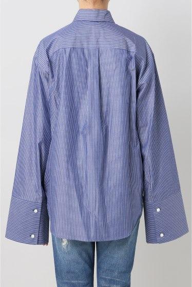 ���ѥ�ȥ�� �ɥ����������� ���饹 Stripe Wide Sleeve Shirt�� �ܺٲ���3