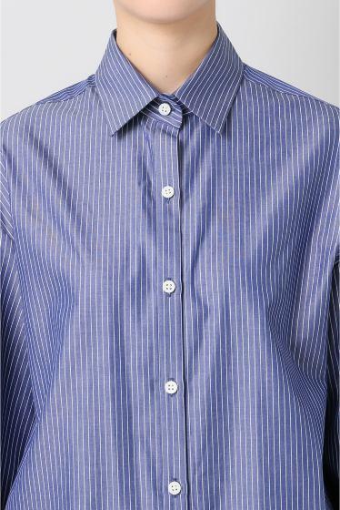 ���ѥ�ȥ�� �ɥ����������� ���饹 Stripe Wide Sleeve Shirt�� �ܺٲ���4