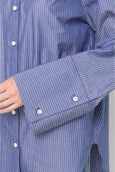 ���ѥ�ȥ�� �ɥ����������� ���饹 Stripe Wide Sleeve Shirt�� �ܺٲ���6