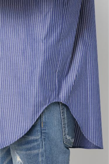 ���ѥ�ȥ�� �ɥ����������� ���饹 Stripe Wide Sleeve Shirt�� �ܺٲ���8
