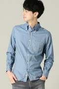 ���㡼�ʥ륹��������� INDIVIDUALIZED SHIRTS / ����ǥ��ӥ��奢�饤���ɥ����:Heritage Denim#