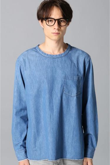 ���㡼�ʥ륹��������� ONES STROKE / ����ȥ?�� : SMU 6ozDenim Crew Shirts �ܺٲ���3
