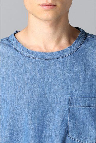 ���㡼�ʥ륹��������� ONES STROKE / ����ȥ?�� : SMU 6ozDenim Crew Shirts �ܺٲ���6