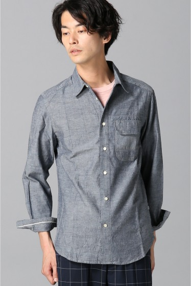 ���㡼�ʥ륹��������� Billy Reid / �ӥ��� : Miller Shirt �ͥ��ӡ� B