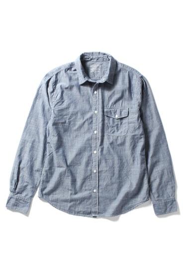 �����֥�������ʥ��ƥå� Chambray Work Shirt �������� K