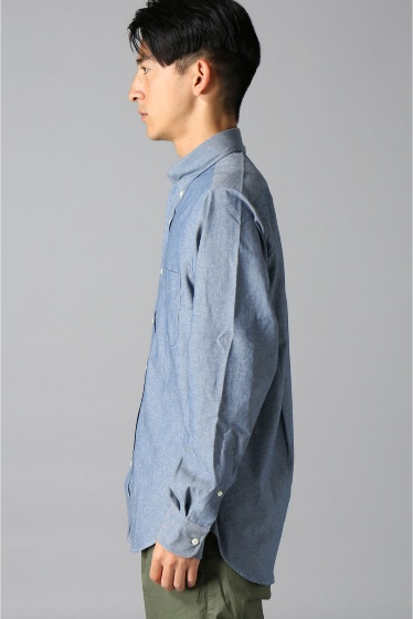 ���㡼�ʥ륹��������� IKE BEHAR / �������١��ϡ�:LONG SLEEVE BUTTON DOWN chambray �ܺٲ���3