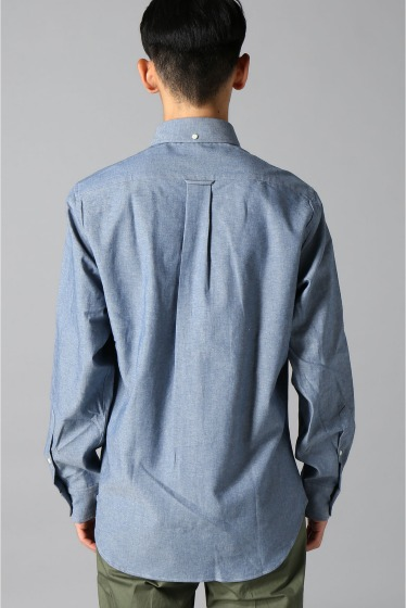 ���㡼�ʥ륹��������� IKE BEHAR / �������١��ϡ�:LONG SLEEVE BUTTON DOWN chambray �ܺٲ���4