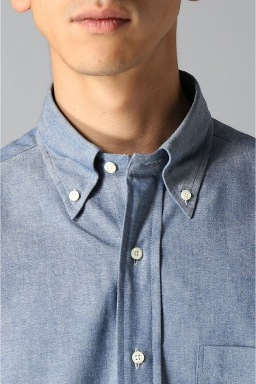 ���㡼�ʥ륹��������� IKE BEHAR / �������١��ϡ�:LONG SLEEVE BUTTON DOWN chambray �ܺٲ���5