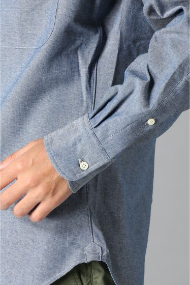 ���㡼�ʥ륹��������� IKE BEHAR / �������١��ϡ�:LONG SLEEVE BUTTON DOWN chambray �ܺٲ���7