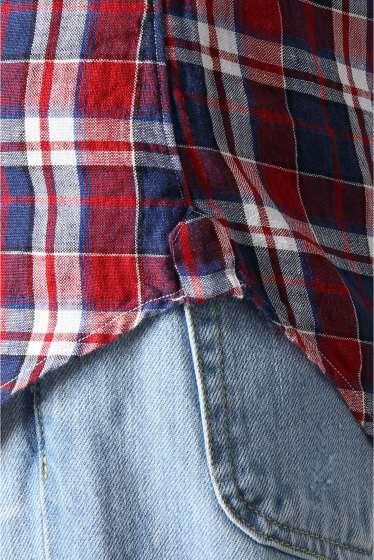 ���㡼�ʥ륹��������� IKE BEHAR / �������١��ϡ�:linen madrass check �ܺٲ���11
