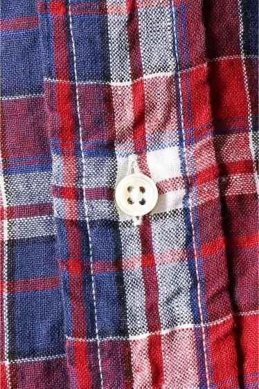���㡼�ʥ륹��������� IKE BEHAR / �������١��ϡ�:linen madrass check �ܺٲ���13