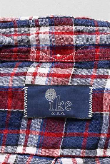 ���㡼�ʥ륹��������� IKE BEHAR / �������١��ϡ�:linen madrass check �ܺٲ���15