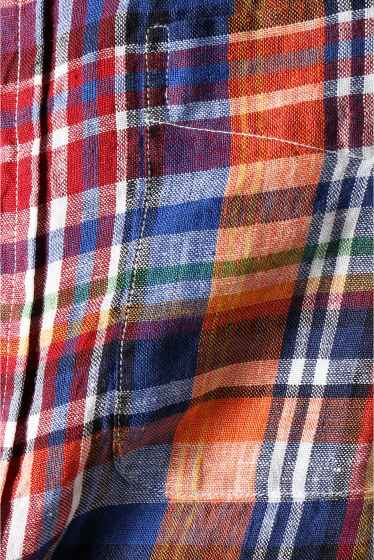 ���㡼�ʥ륹��������� IKE BEHAR / �������١��ϡ�:linen madrass check �ܺٲ���17