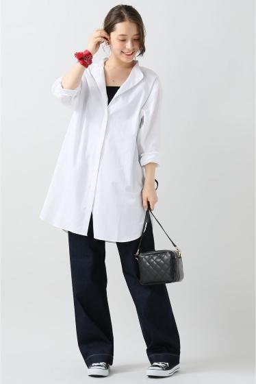 ���?�� ������ BONSUI BASIC WHITE SHIRT �ܺٲ���1