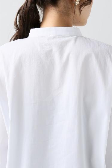 ���?�� ������ BONSUI BASIC WHITE SHIRT �ܺٲ���7