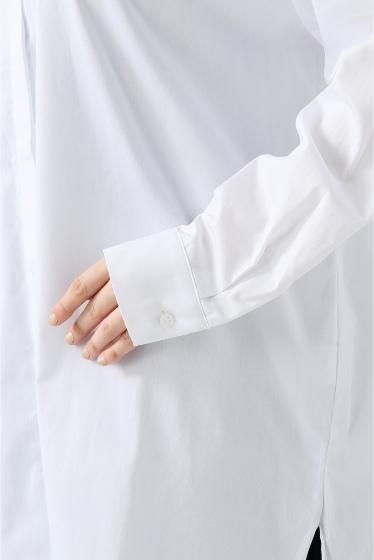 ���?�� ������ BONSUI BASIC WHITE SHIRT �ܺٲ���8