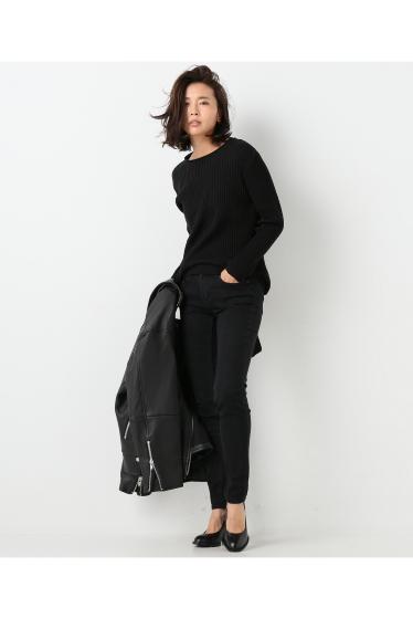 ���㡼�ʥ륹��������� ��AERON /�������� banded knit top:�˥åȥץ륪���С� �ܺٲ���1
