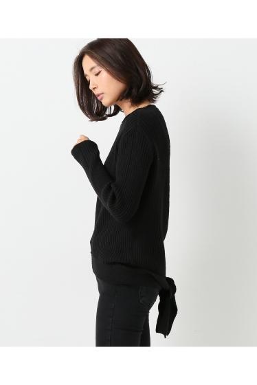 ���㡼�ʥ륹��������� ��AERON /�������� banded knit top:�˥åȥץ륪���С� �ܺٲ���5