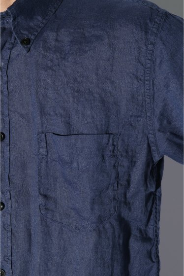 ���㡼�ʥ륹��������� IRISH LINEN B.D SHIRT S-S �ܺٲ���10