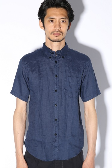 ���㡼�ʥ륹��������� IRISH LINEN B.D SHIRT S-S �ܺٲ���4