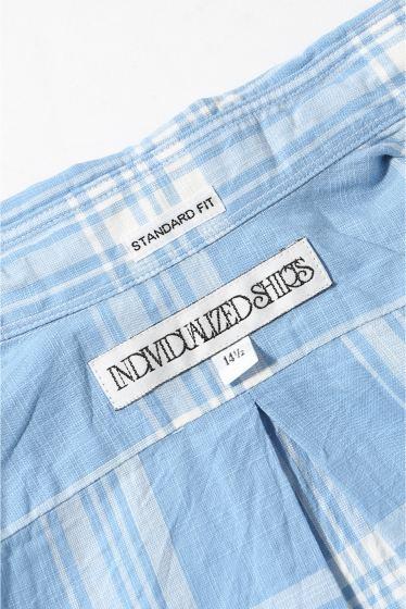 ���㡼�ʥ륹��������� INDIVIDUARIZED SHIRTS/ ����ǥ��������奢�饤���ɥ����:1950 Check S/S �ܺٲ���14