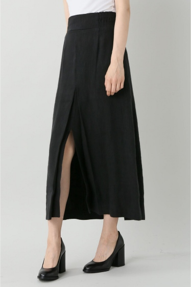 ���㡼�ʥ륹��������� ��A PIECE A PART /�� �ԡ����� �ѡ��ȡ�  Obsidian slit skirt �֥�å�